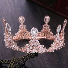 prom accessories beautiful candy pink bridal jewelry 2017 metal beading