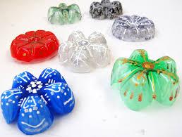 plastic bottle snowflakes diy handmade decorations