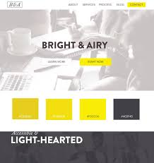 Idea Website 5 Web Design Color Palettes From Black And Gold Websites