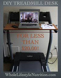 Diy Treadmill Desk Ikea How To Build A Treadmill Desk For 20 Treadmill Desk