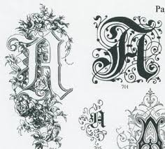 153 best ornamental letters images on illuminated