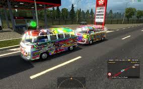 van volkswagen hippie volkswagen hippie van v2 in traffic