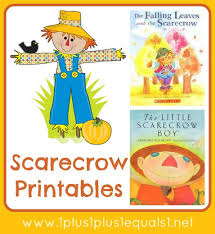 scarecrow printable pack scarecrows printables and book