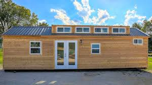 Tiny House Cabin by Modern Rustic Cabin Style Shipping Container Tiny House With