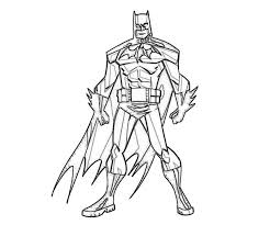 Batman Coloring Pages Free Many Interesting Cliparts Batman Coloring Pages For