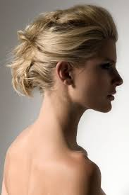 piled up pinned hair great up do style for medium length hair
