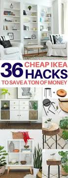 diy home decor ideas living room 35 amazing ikea hacks to decorate on a budget room ideas