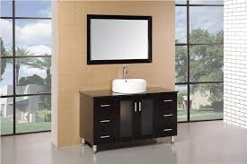 Vessel Sink Bathroom Vanity by Adorna 48 Inch Vessel Sink Bathroom Vanity Set In Espresso Finish