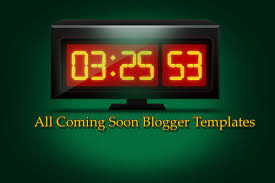 all coming soon blogger template all blogger tools