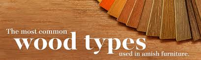 common wood types used in amish furniture amish outlet store
