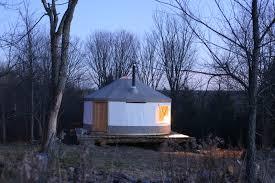 tiny house town a 133 sq ft diy yurt