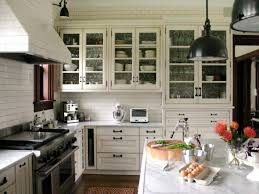 Custom Glass For Cabinet Doors Small Kitchen Kitchens With Glass Cabinet Doors Kitchen Cabinet