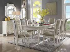 antique white dining room set 9 piece dining room set ebay