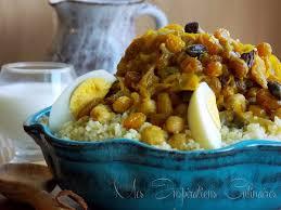 cuisine marocaine couscous couscous tfaya aux raisins secs et oignons caramélisés le