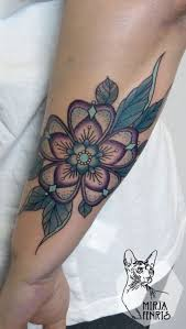 the 25 best colorful flower tattoo ideas on pinterest colorful