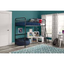 better homes and gardens kelsey twin metal loft bed white ebay