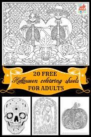 halloween colouring pages adults mum madhouse