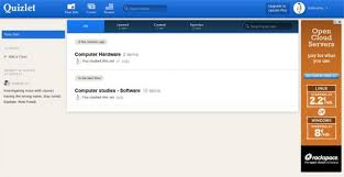 quizlet tutorial video quizlet review create share and embed flashcards blinklist com