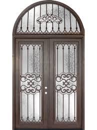 full glass entry door tivoli full lite double wrought iron door 8 u0027 0