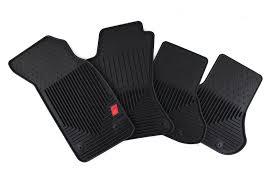 genuine audi a4 car mats amazon com genuine audi accessories zaw179004blk rubber all