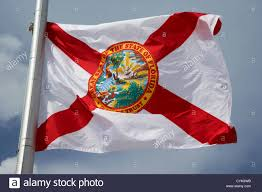 Florida Flag Facts Florida State Flag Flying Usa Stock Photo Royalty Free Image