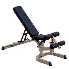 body solid heavy duty flat incline decline bench gfid71