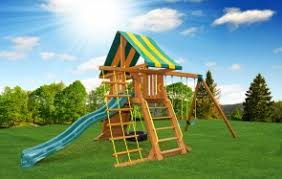 swing sets backyard adventures of mass playgrounds playsets