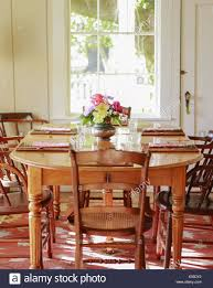 Breakfast In Bed Table by Empty Dining Room With Wood Table And Chairs In Bed And Breakfast