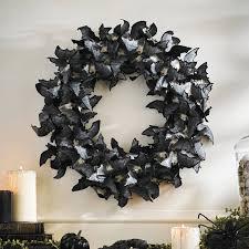 halloween wreath paper bats halloween wreath the green head