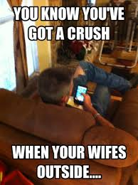 Sharing Meme - candy crush wife outside