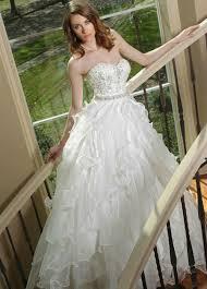 exquisite wedding dresses a line bridal gowns sequins 2015