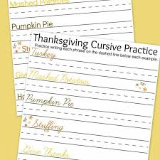 thanksgiving writing practice worksheets a s take