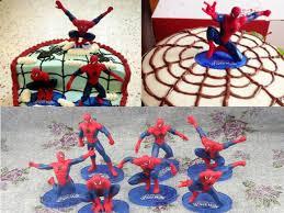 Aliexpress Com Buy 7pcs Anime Cartoon Spider Man Pvc Action