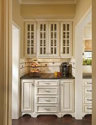 Kitchen Cabinets Oak Decorating Oak Cabinets By Lowes Kitchens With Wicker Stool And
