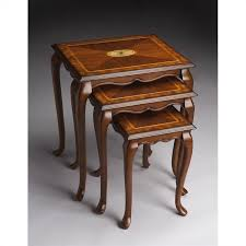 butler specialty nesting tables butler specialty nest of tables in olive ash burl finish 2306101