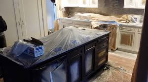 Kitchen Cabinet Refinishing Atlanta Kitchen Cabinet Refacing Maple With Cherry Stain How Much Does It