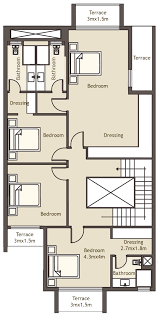 Town Houses Floor Plans Joya Residential Compound Luxury Town Houses In The Heart Of October