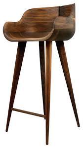 Designer Kitchen Stools Solid American Walnut Bar Stools Contemporary Kitchen Dc