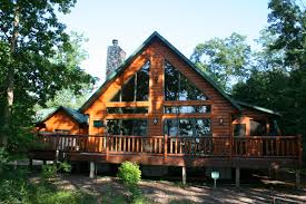 Lakeside Cottage House Plans by Countrymark Log Homes Energy Efficient Hybrid Hahnow