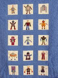 robot quilt a little craft
