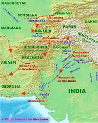 India River Map indian campaign of alexander the great wikipedia