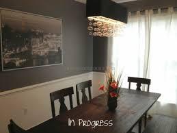 Rectangular Dining Room Lighting Lighting Rectangular Chandelier Ideas And Enchanting