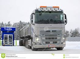 volvo fh 2016 price volvo fh16 650 combination truck stops for refueling editorial
