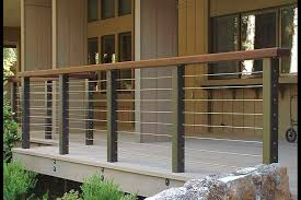 deck railing ideas in modern home tips and inspiration home ideas