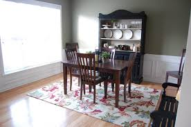 dining room carpets new dining room rug one creative momma