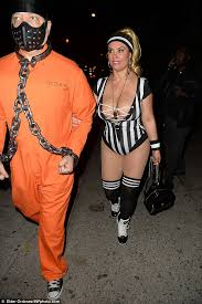 Halloween Costumes 1 Coco Austin Wears Referee Costume Heidi Klum U0027s Halloween