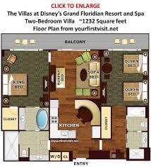 villa floor plans 17 best disney floor plans images on disney vacations
