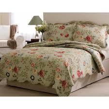 mainstays jaipur paisley bed in a bag set blue walmart com