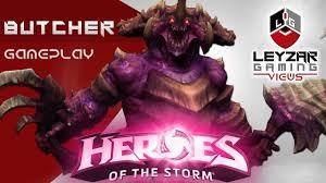 heroes of the storm gameplay butcher meta build hots butcher