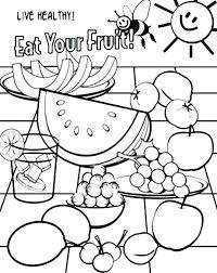 healthy food coloring pages preschool healthy food coloring page food coloring pages healthy food coloring